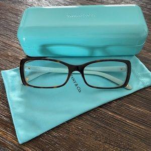 Tiffany & Co Tortoise Prescription Glasses Frames